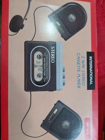 Nowy! Wolkmen stereo cassette player
