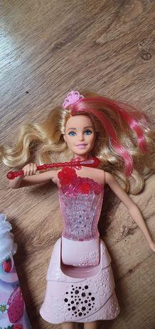 Lalka Barbie Dreamtopia Mattel gra i świeci bardzo dobry stan