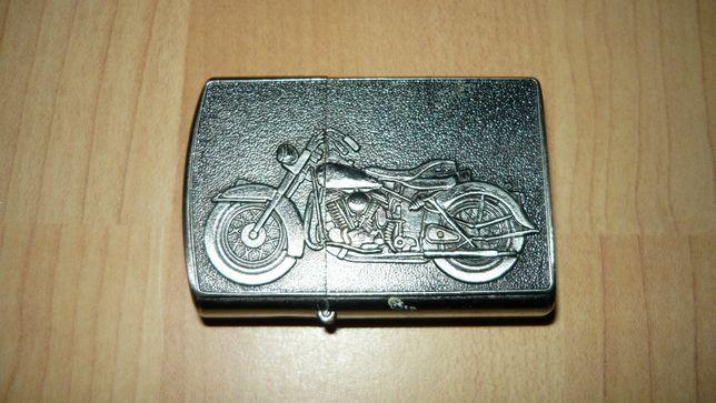 Zapalniczka Hadson motor motocykl benzynowa motocyklisty chopper