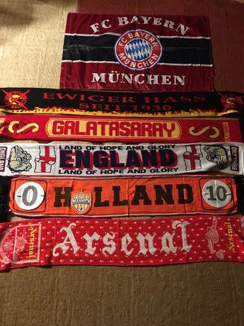 Шарфы футбольных клубов: АПЛ, Бундеслига