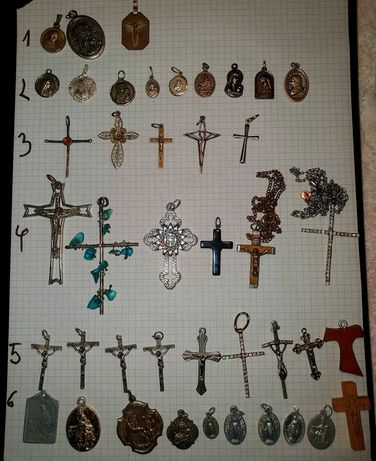 medaliki i krzyzyki wisiorki