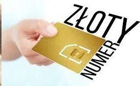 OKAZJA złoty numer 112 zloty numer orange play plus tmobile 4 cyfry