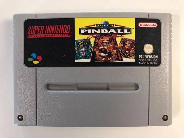 Gra Super Pinball Super Nintendo SNES PAL