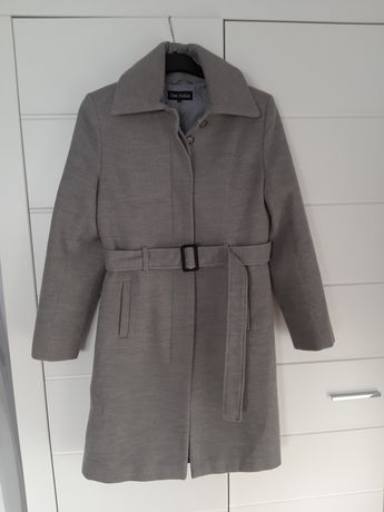 Płaszcz damski szary rozmiar 40