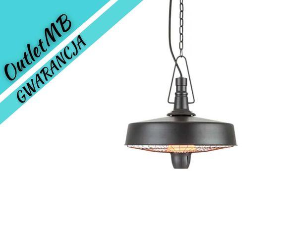 Promiennik tarasowy na podczerwień czarny lampa grzewcza 2500W 280501