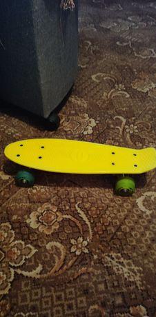 Скейт доска колеса светятся