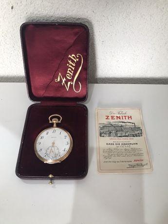 Zenith złoty zegarek Grand Prix 1900 14 k