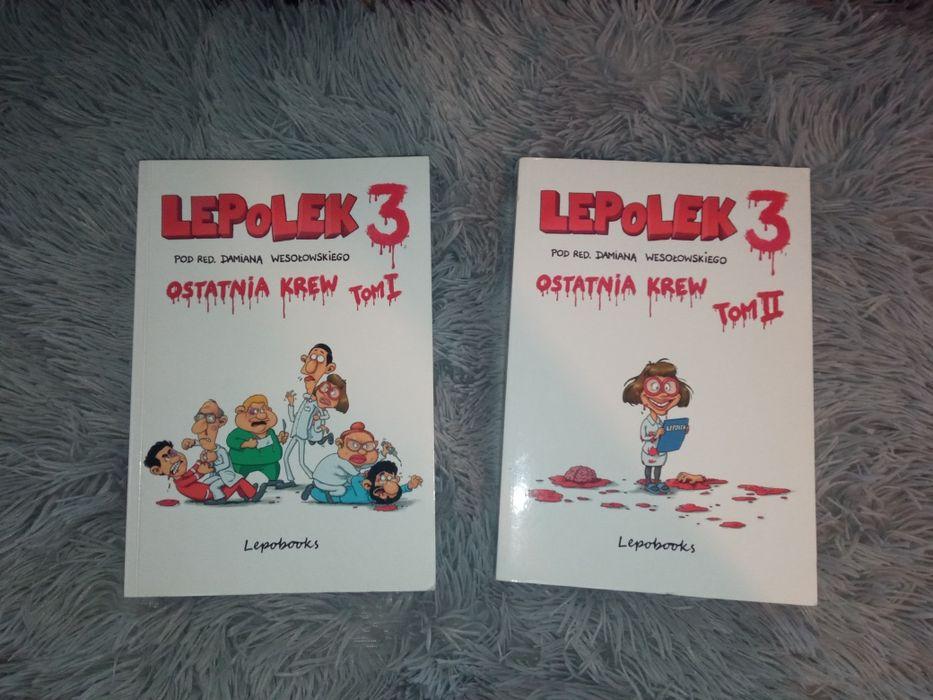 LepoLek 3 tomy 1-2 LEPoLEK3 Jeżowe - image 1