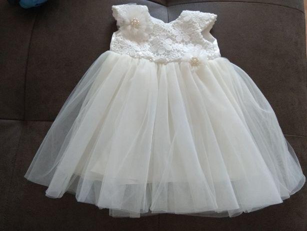 Продам нарядное платье для малышки.Очень красивое)