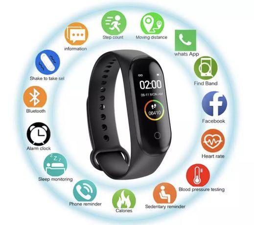 Smartband M4. Zegarek sportowy