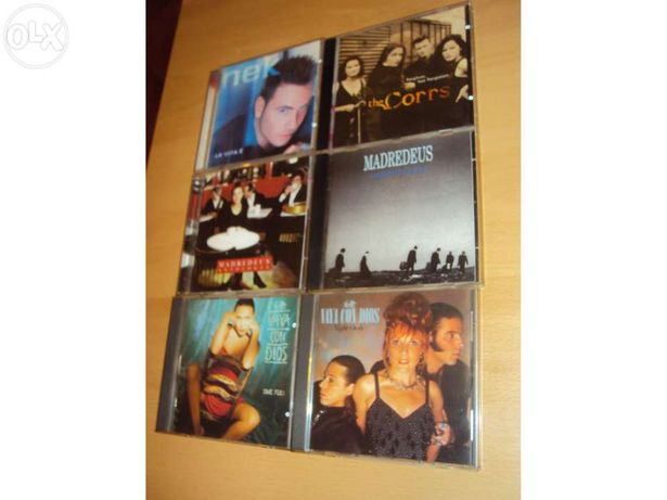 CDs diversos - estão novos!