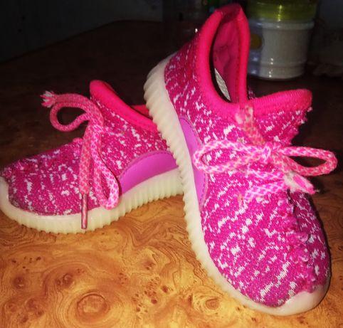 Макасины Светящиеся кросовки для принцессы