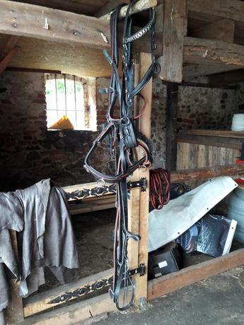 Lejce, puszorek, wędzidła i kantar dla konia
