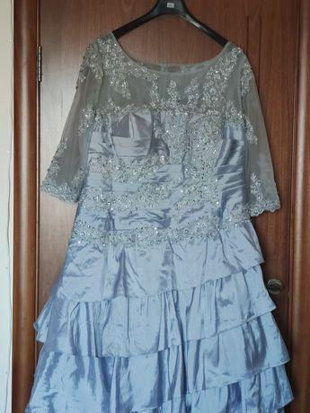 Платье нарядное, на выпуск, свадьбу, юбилей, вечернее большого размера