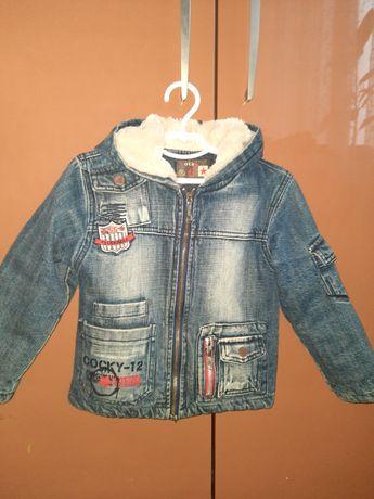 Куртка осенняя джинсовая