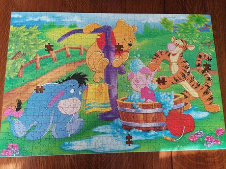 Puzzle Kubuś Puchatek 600