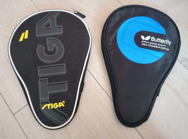 Чехли для ракеток Stiga та Butterfly (настільний теніс).