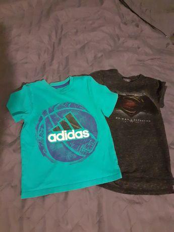 Super koszulki dla chłopca 104 adidas