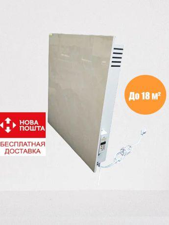 Обогреватель, керамическая панель 700 Вт до 18 м²+терморегулятор