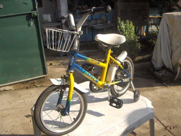 Bicicletas de menina com rodinhas, como novas.