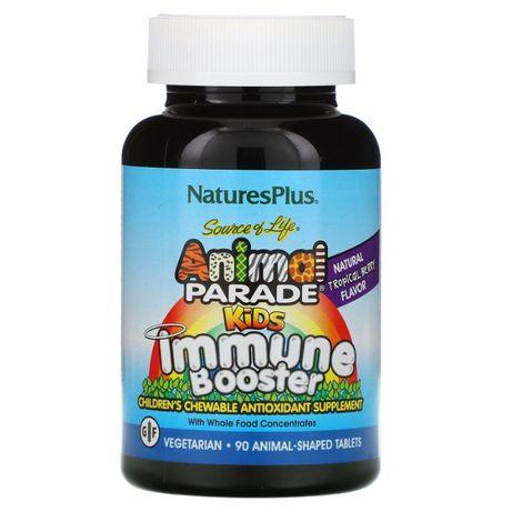 Добавка для укрепления детского иммунитета Nature's Plus ягодный вкус