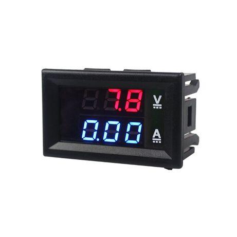Voltímetro Amperímetro Digital DC 100V / 10A