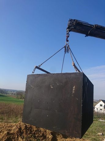 Szambo szamba betonowe zbiorniki betonowe Włocławek Bydgoszcz Gniezno