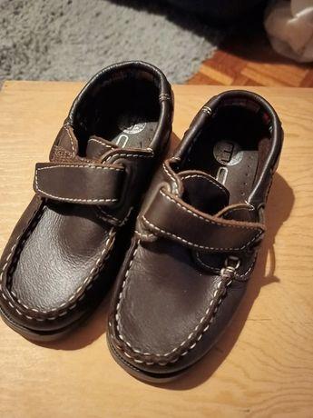 Sapatos vela castanho