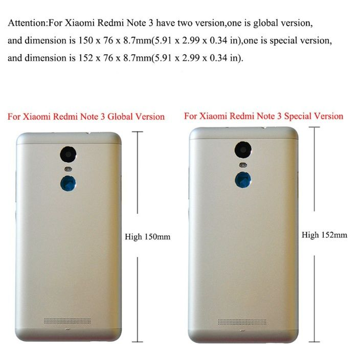 Vidro Temperado para Xiaomi Redmi Note 3 SE Mafamude E Vilar Do Paraíso - imagem 1