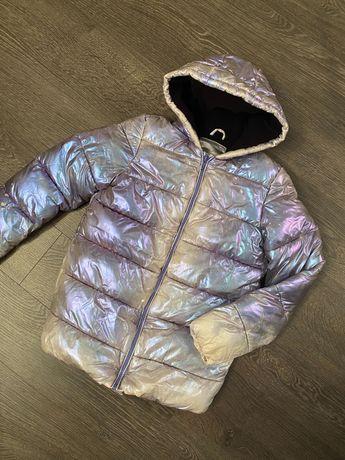 Куртка сиреневый металик 152р geejay