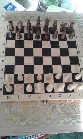 Продам шахматы деревяные