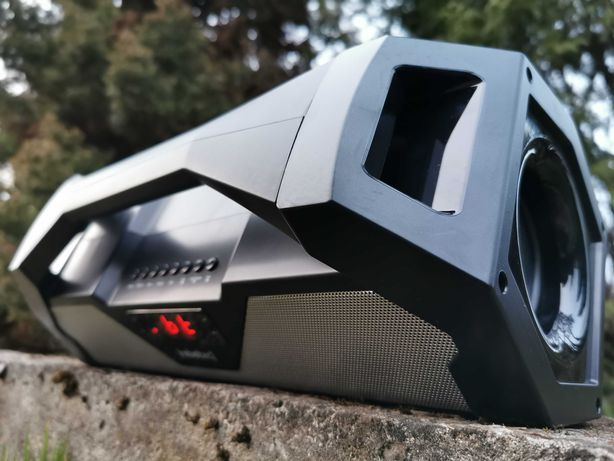 Boombox GŁOŚNIK Bluetooth Subwoofer RADIO ODTWARZACZ MP3 USB Budowlane