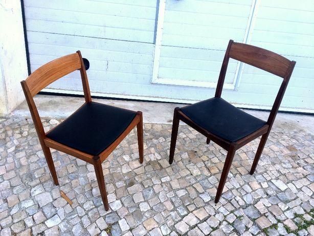 Cadeira olaio vintage estofado de novo