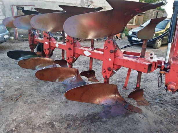 Pług kuhn huard 4 skibowy obrotowy zabezpieczenia śrubowe