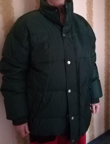 Куртка пуховик, зимняя, мужская, р.