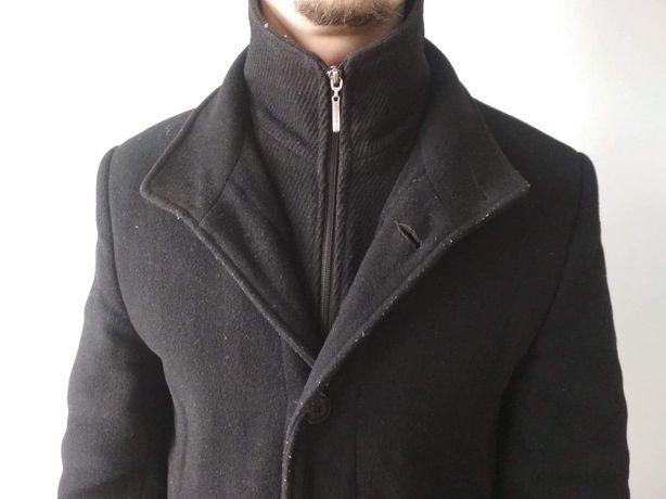 Męski płaszcz, jesień, zima, r. L