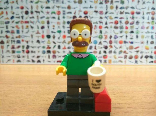 Лего мини-фигурка Нед Фландерс
