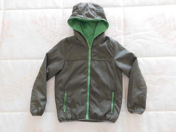Blusão Zara (corta-vento reversível; 7-8 anos)