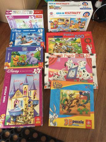 Puzzle dla dzieci i gra