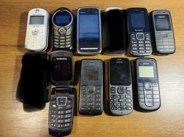 Лот: Nokia, Samsung, SonyEricsson