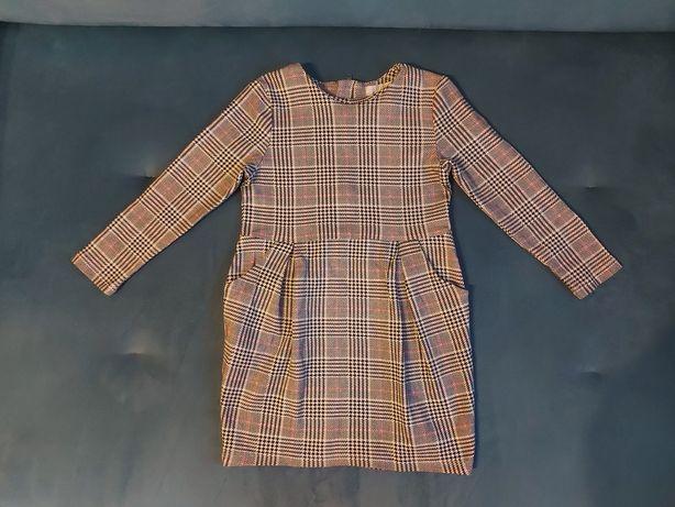 Sukienka wiosenna H&M, rozmiar 98/104, stan idealny