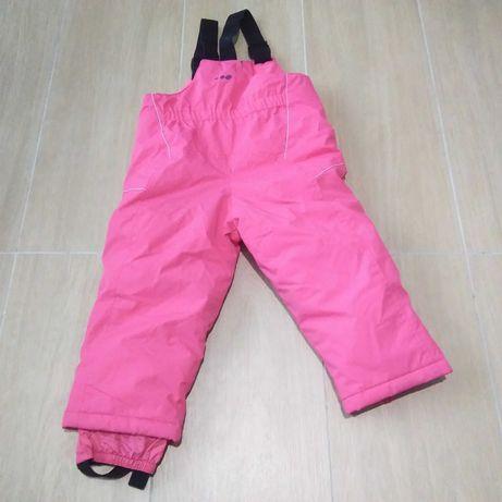 spodnie zimowe/narciarskie 83/90cm-2 latka