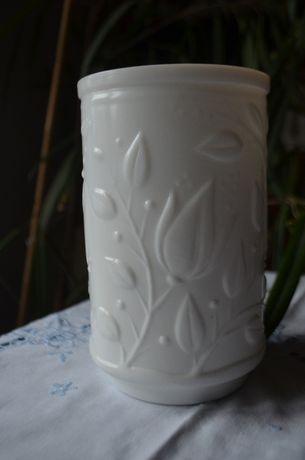 wazon szkło lattimo Verde Opale