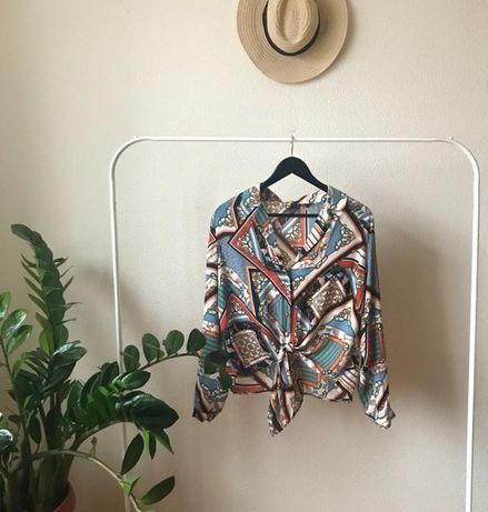 Стильная рубашка в стиле Версаче