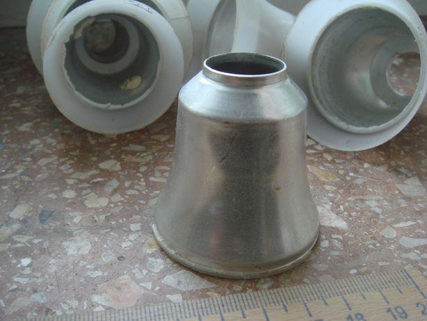Алюминиевый стаканчик от светодиодных ламп