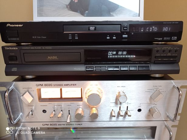 Odtwarzacz CD Technics SL-PG340A