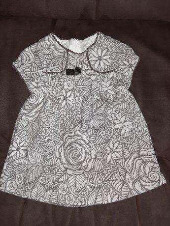 Продам зимнее платье Moonstar. Размер 86 см