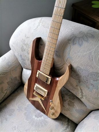 Gitara Elektryczna (Lutnicza- Mahoń)