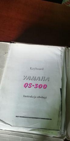 YAMAHA QS300 polska instrukcja obsługi