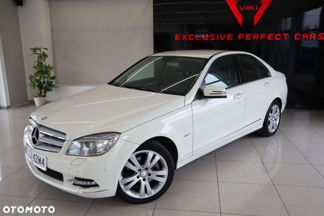 Mercedes-Benz Klasa C Avantgarde Biały!!! Automat Bi Xenon Pół Skóra Alu 17 2xPDC